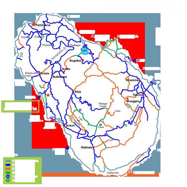 Giardini di Pantelleria - Dove Siamo